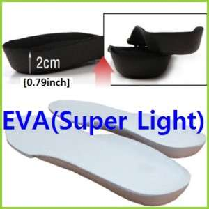 EVA Comfort Height Increase Shoe Insoles Super Light ep