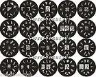 Series Nail Art Stamp Stamping Image Plate A01 A20   Set of 20 pcs