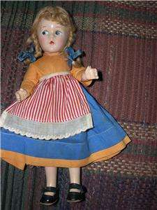 Madame Alexander International Composition 1930s Doll
