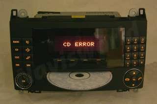 Mercedes Benz Radio Audio 20 CD Reparatur C Klasse E A B SLK CLK W203