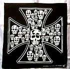 IRON CROSS SKULL KREUZ BONES Bandana Kopftuch Totenkopf Tuch Artikel