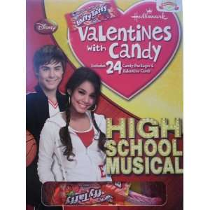 Disney High School Musical Valentines with Candy Toys & Games