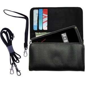 Black Purse Hand Bag Case for the Verizon 4G LTE MIFI