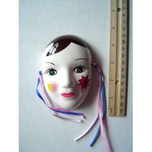 Ceramic Mardi Gras Face Mask for Wall n03w 6 Everything Else