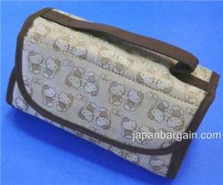 Sanrio Hello Kitty Cosmetic Zipper Bag 4 Pockets #22403