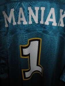MEMPHIS MANIAX XFL JERSEY SHIRT DEFUNCT VINCE MCMAHON WWE NFL MENS M L