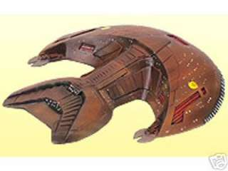 This is the STAR TREK FERENGI STARSHIP. This model of the STAR TREK