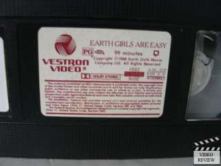 Earth Girls are Easy VHS Geena Davis, Jeff Goldblum 028485153035