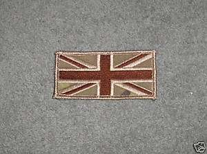 UNION JACK FLAG VELCRO BACKED MULTICAM PATCH   NEW