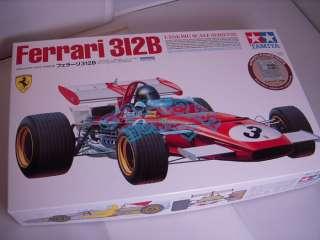 Tamiya 12048 1/12 Ferrari 312B w/Photo Etched Parts Model Kit