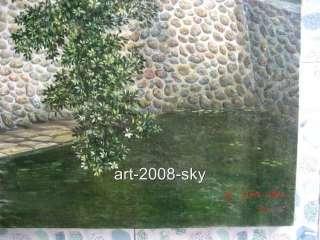 Original Oil painting landscape art on canvas 30x40