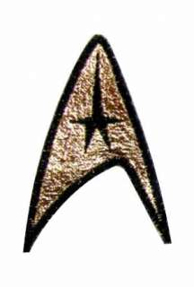 The 3rd season command patch as seen in Star Trek The Original Series