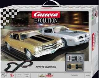 Carrera 25163 Evolution Night Racers Slot Car Race Set
