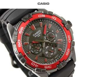 Casio F1 Vettel Racing Diver Sport MULTI DIAL 100M Mens Watch MTD