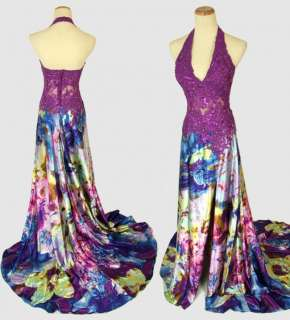 JOVANI Purple $460 Prom Dress Pageant Evening Gown   BRAND NEW   (Size