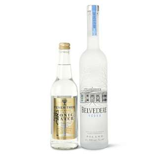 Vodka and tonic gift pack 700ml   BELVEDERE   Spirits gifts   Wine
