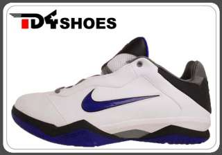 Nike Zoom Kobe Venomenon II White Blue Grey Mens Basketball Shoes VI