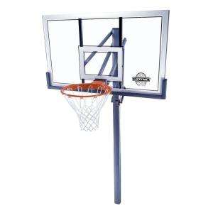 Lifetime 54 In. Acrylic Power Lift In Ground Basektball System 78888