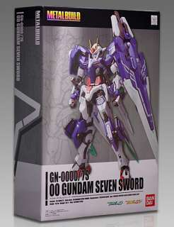 Bandai FIX Metal Build GN 0000/7S 00 Gundam Seven Sword