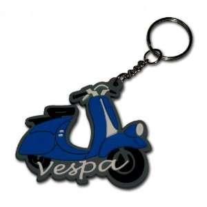 Vespa Roller Schlüsselanhänger Key Ring Kautschuk Gummi Keyring auch