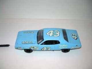 Richard Petty #43 Plymouth Roadrunner Model Car Kit Built