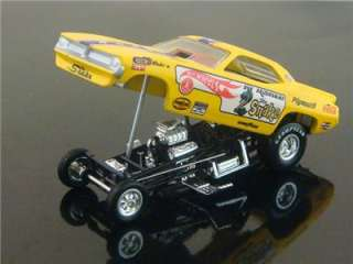 Don The Snake Prudhomme Cuda Funny Car 1/64 Limited Edition 7