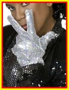 Original Michael Jackson Billie Jean Handschuh silber