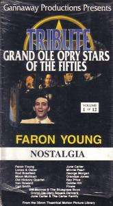 VHS GRAND OLE OPRY STARS FIFTIESFARON YOUNG..RARE
