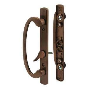 Prime Line Sliding Door Handle Set, Oil Rubbed Bronze C 1281 at The