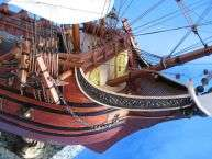 Spanish Galleon 30 Wooden Ship Model Replica