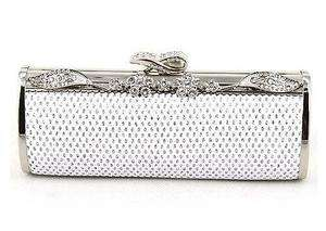 Crystals Evening Bag Purse Clutch Party Wedding New With Tag