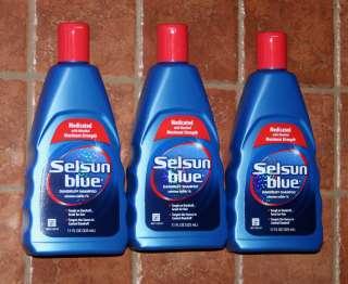 selsun blue dandruff shampoo for itchy dry scalp 11 oz
