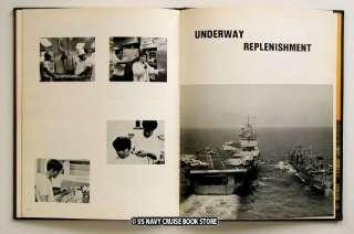 USS PONCHATOULA AO 148 WESTPAC CRUISE BOOK 1972 1973