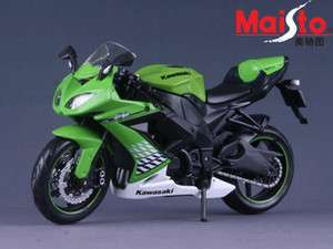 MAISTO 112 KAWASAKI ZX 10R MOTORCYCLE/BIKE DIECAST MODEL/TOY