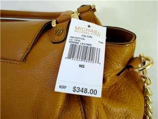 MICHAEL KORS TAN FULTON LARGE TOTE HANDBAG $348