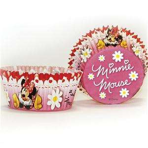 Minnie Mouse Red Polka Dot Party Cupcake Cases x 50