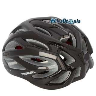New Cool EPS PC 25 Holes Sports Bike Bicycle Cycling Black Helmet