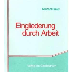 Michael Brater, Sozialtherapeutische Akademie Sondern e.V. Wuppertal