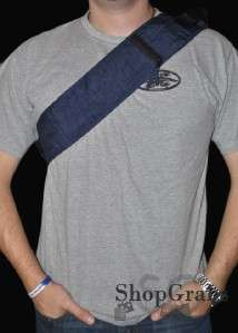 New XL Navy Blue Miliary Fanny Pack Shoulder Bag Pack Concealed Carry