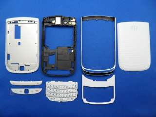 NEW BLACKBERRY TORCH 9800 HOUSING WHITE COLOR