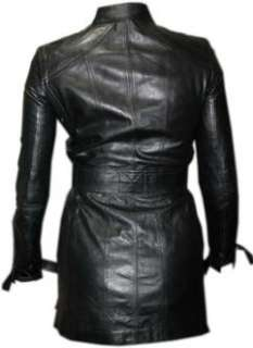 GUCCI Womens Black Soft Lamb Leather Designer Jacket Coat UK 8 EU 40