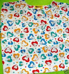NURSES VET UNIFORM SCRUB BABYS LITTLE PETS 3XL NEW