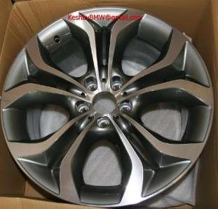 GENUINE BMW E70 X5 X6 Style 336 Y Spoke 20 wheels rims 3.0 4.8 5.0