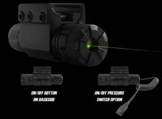 NcStar Tactical Compact Green Laser + Pressure Switch
