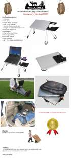 Portable Notebook Laptop Desk Table Stand *Brand NEW*