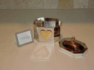 Williamsburg Lenox Silver plate Large Heart Box