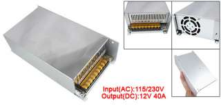 Universal Low Temperature 12V 40A Switch Power Supply