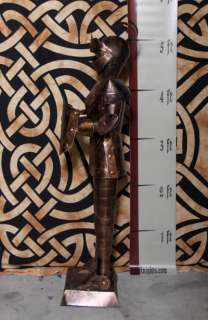 Foot COPPER Suit of Armor Knight   Sword & Shield