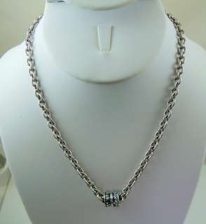 Kirks Folly Simply Stylish Magnetic Necklace Silvertone