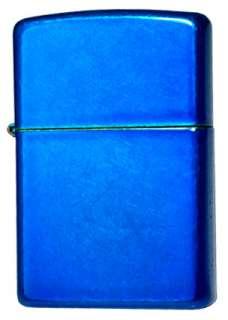 CERULEAN BLUE   GENUINE WINDPROOF ZIPPO LIGHTER #24534